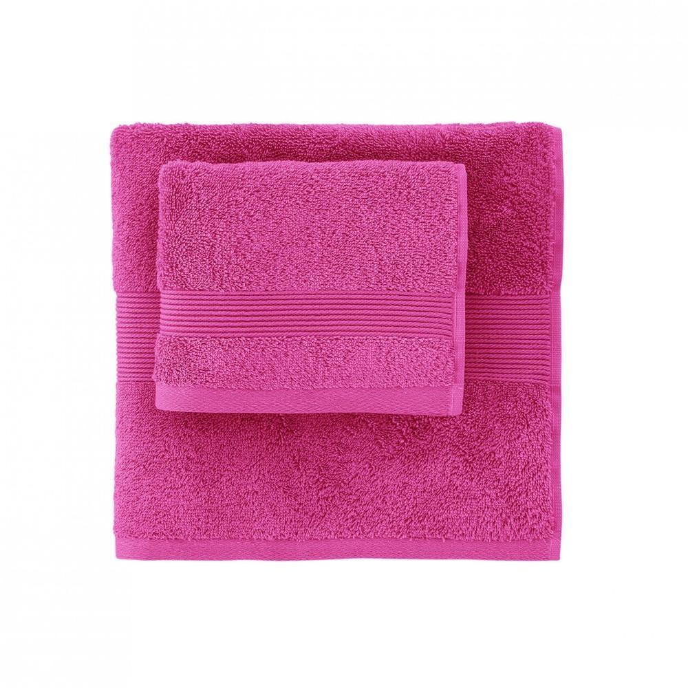 Set bagno in spugna 1+1 medio e ospite SOLO TUO Zucchi - vari colori
