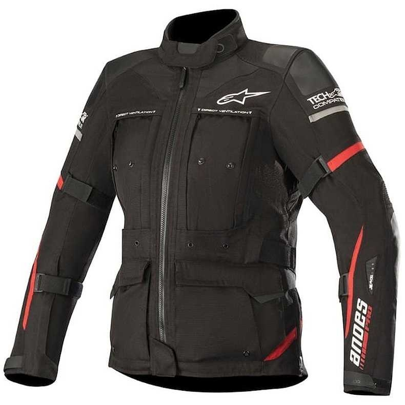 GIACCA  ALPINESTARS STELLA ANDES PRO DRYSTAR BLACK RED COD. 3217119