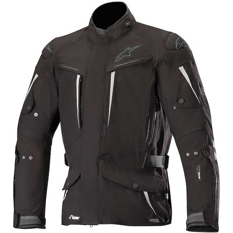 GIACCA MOTO ALPINESTARS YAGUARA DRYSTAR JACKET BLACK ANTHRACITE COD. 3203218