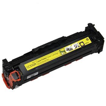 Toner Compatibile con HP CC532A Canon 718 Yellow