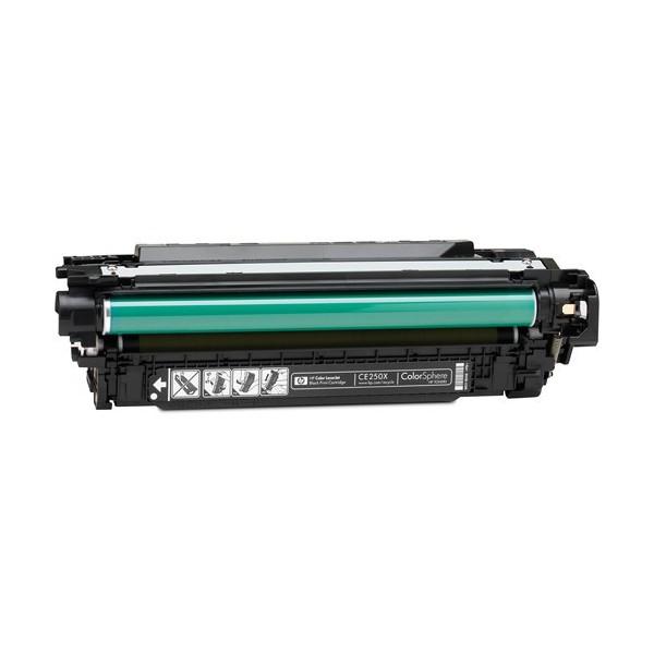 Toner Compatibile con HP CE250X Nero 11K
