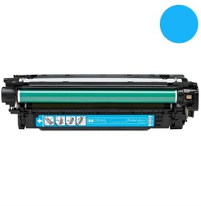 Toner Compatibile con HP CE401A Ciano Alta Capacità CE507A