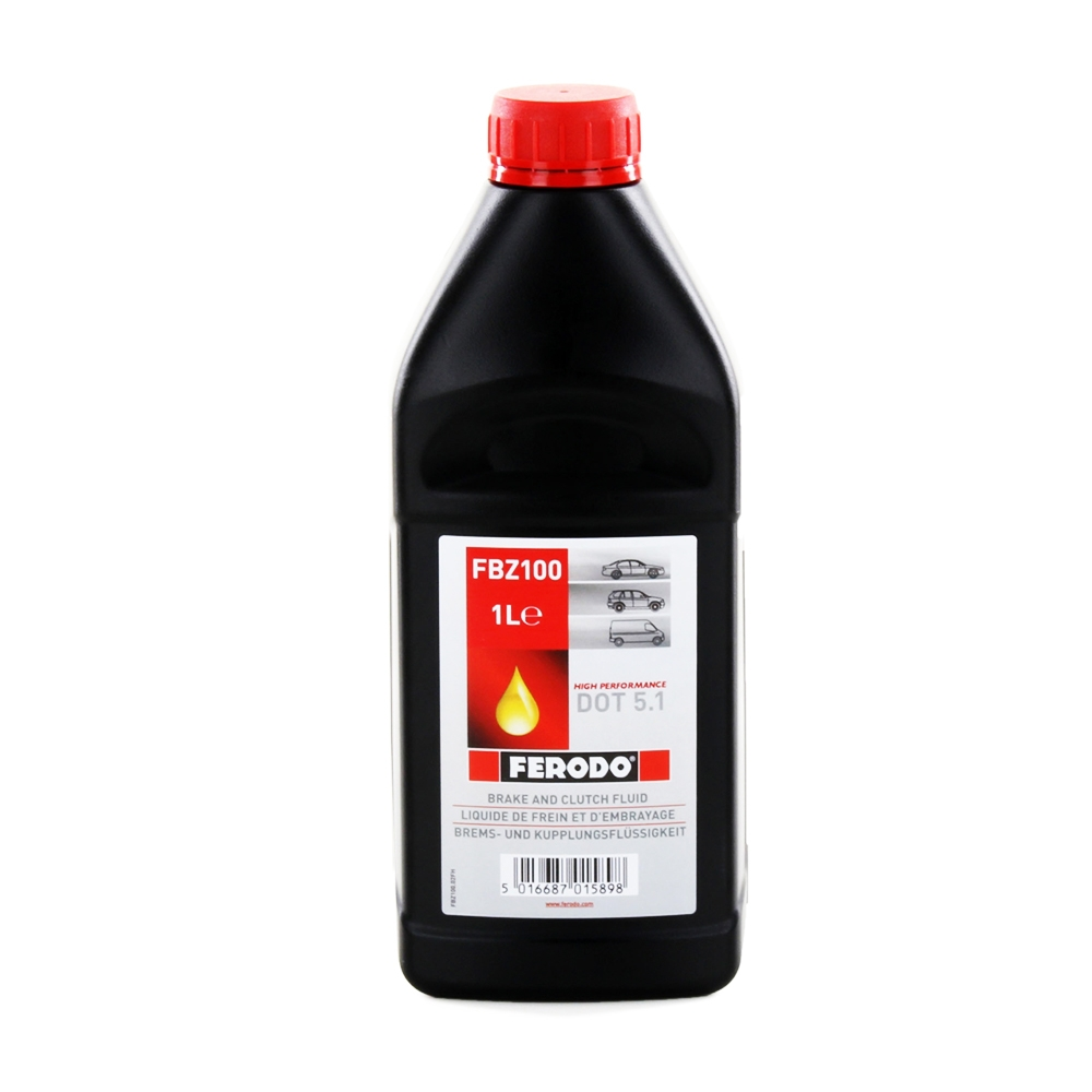 OLIO FRENI AUTO FERODO FBZ100 HIGH PERFORMANCE DOT 5.1 1L