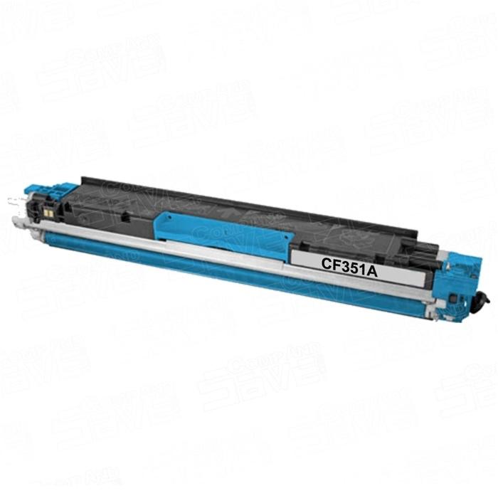 Toner Compatibile con HP CF351A Ciano