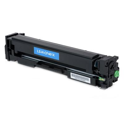 Toner Compatibile con HP CF401X Ciano