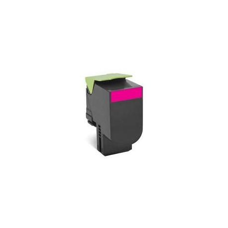 Toner Compatibile con Lexmark C702 CS310 Magenta