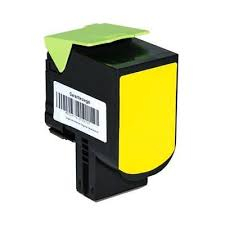 Toner Compatibile con Lexmark C702 CS310 Yellow