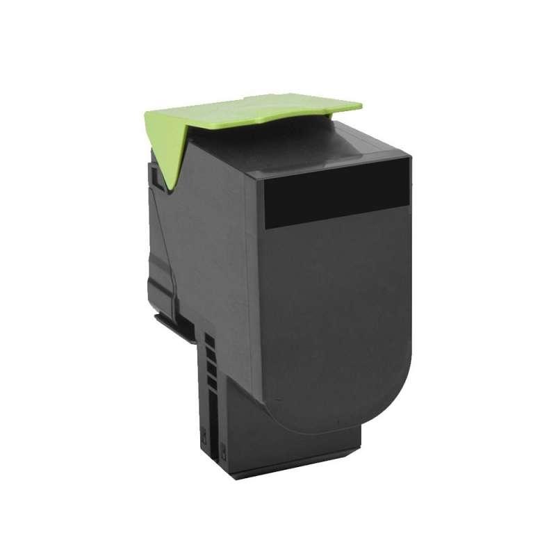 Toner Compatibile con Lexmark C802 CX310 Black