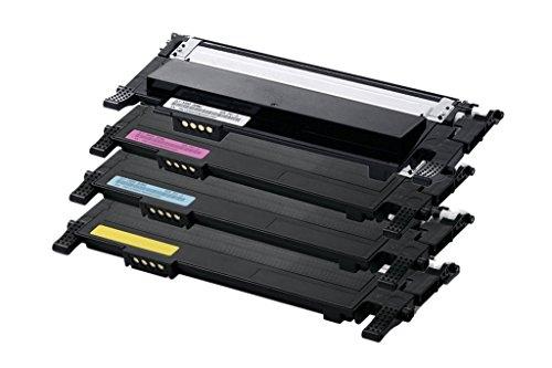 Toner Compatibile con Samsung Clp360 - CLX3305 CLT-C406S Ciano