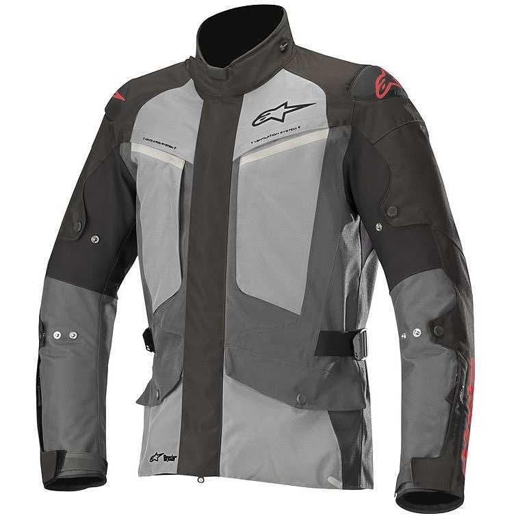 GIACCA MOTO ALPINESTARS MIRAGE DRYSTAR JACKET BLACK DARK GRAY LIGHT GRAY COD. 3203318