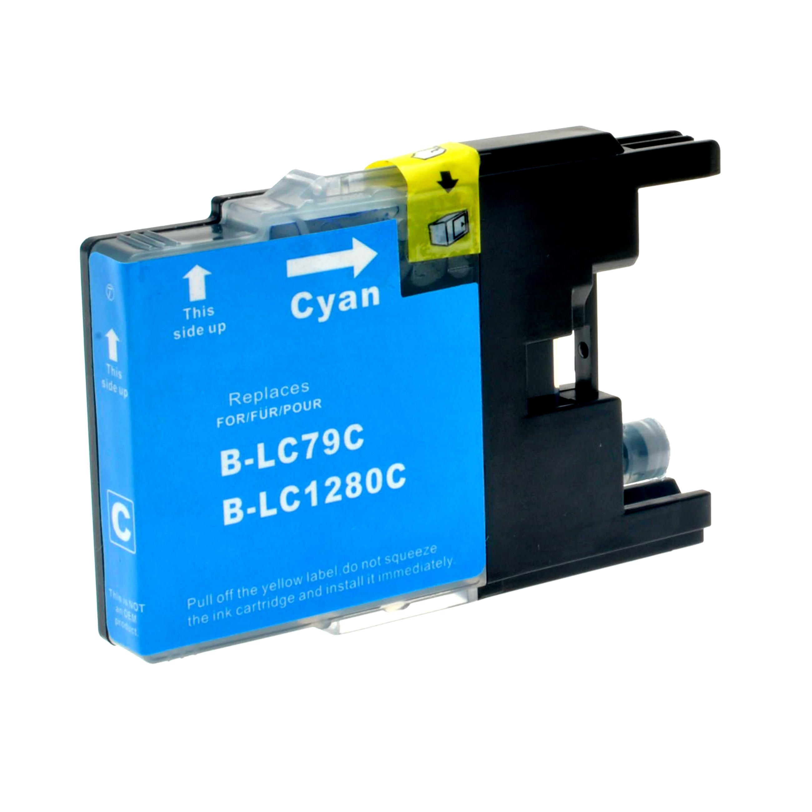 Cartuccia Compatibile con BROTHER LC1280XL Ciano