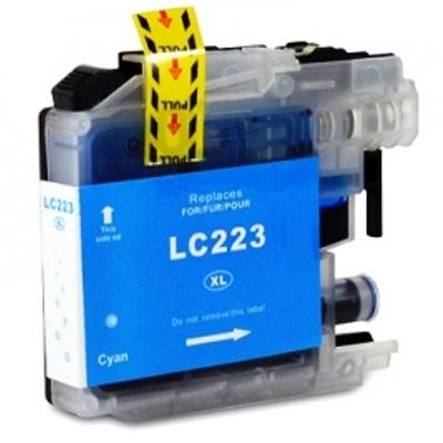 Cartuccia Compatibile con BROTHER LC223 Ciano New Chip