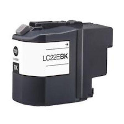 Cartuccia Compatibile con BROTHER LC22E XL BK