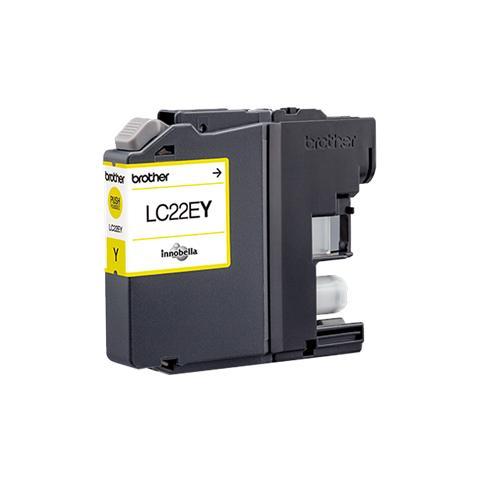 Cartuccia Compatibile con BROTHER LC22E XL Yellow