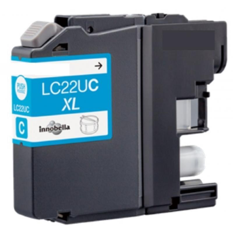 Cartuccia Compatibile con BROTHER LC22U XL Ciano
