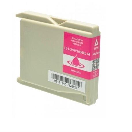 Cartuccia Compatibile con BROTHER LC970/1000 Magenta