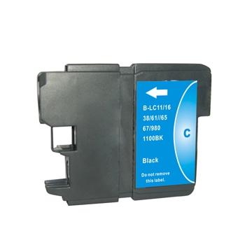 Cartuccia Compatibile con BROTHER LC980 LC-1100 Ciano