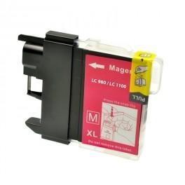 Cartuccia Compatibile con BROTHER LC980 LC-1100 Magenta