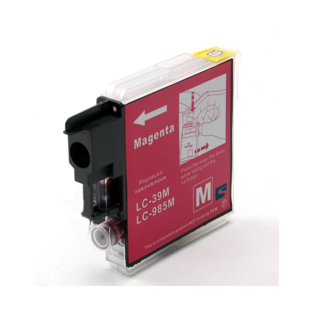 Cartuccia Compatibile con BROTHER LC-985 Magenta