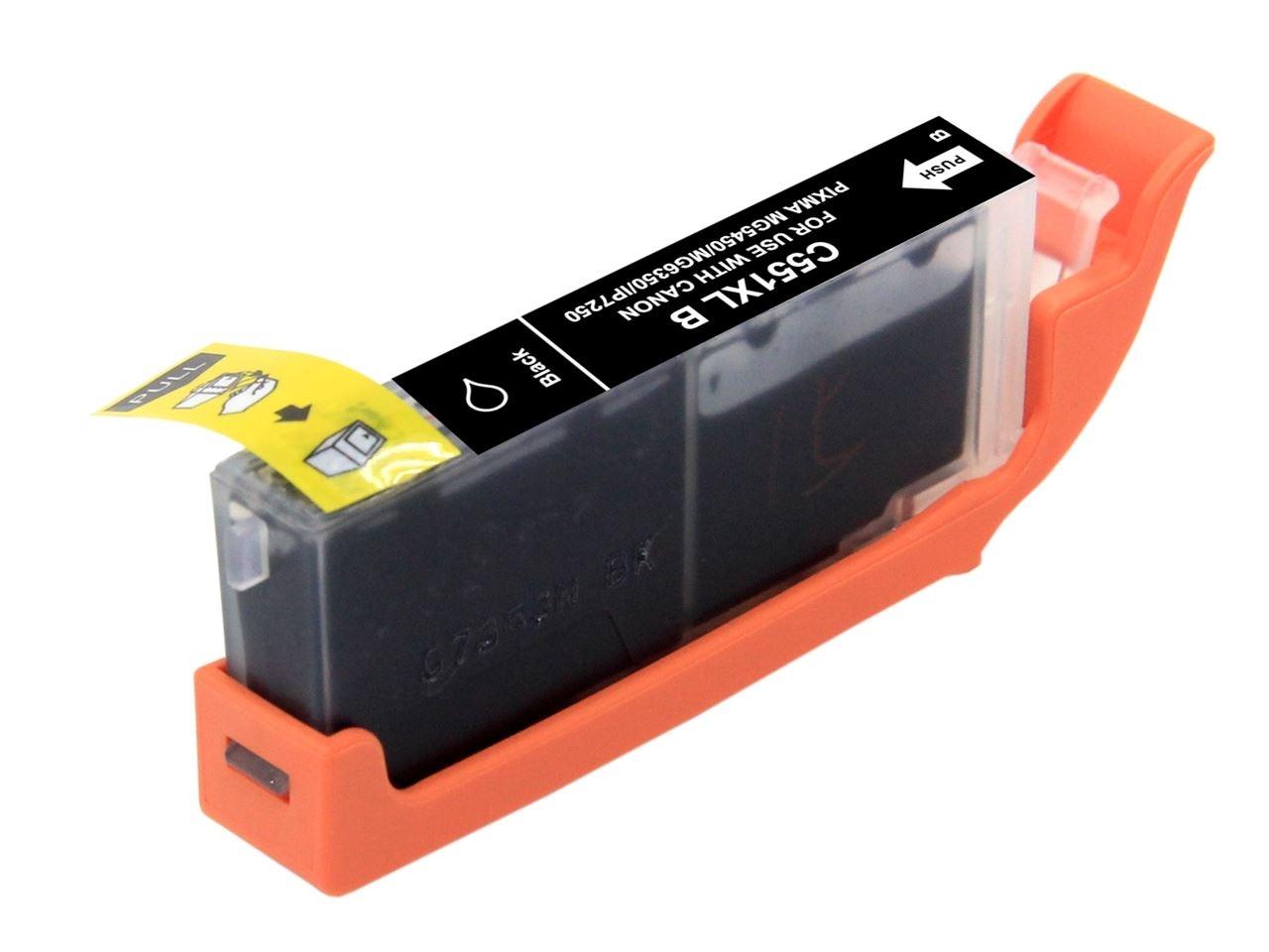Cartuccia Compatibile con CANON CLI 551 XL BK