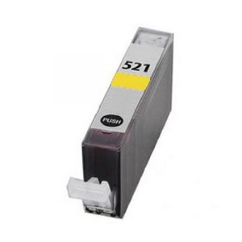 Cartuccia Compatibile con CANON CLI521 Yellow con chip