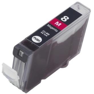 Cartuccia Compatibile con CANON CLI8 Magenta con chip