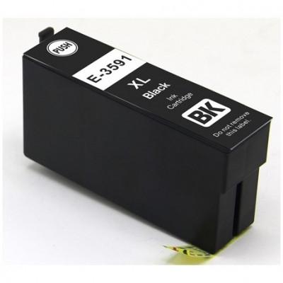 Cartuccia Compatibile con EPSON T3591 35XL BK