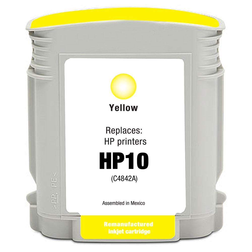 Cartuccia Compatibile con con HP 10 Yellow
