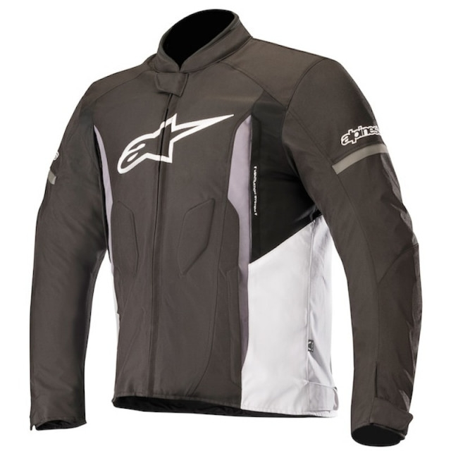 GIACCA MOTO ALPINESTARS T-FASTER JACKET BLACK WHITE DARK GRAY COD. 3303518
