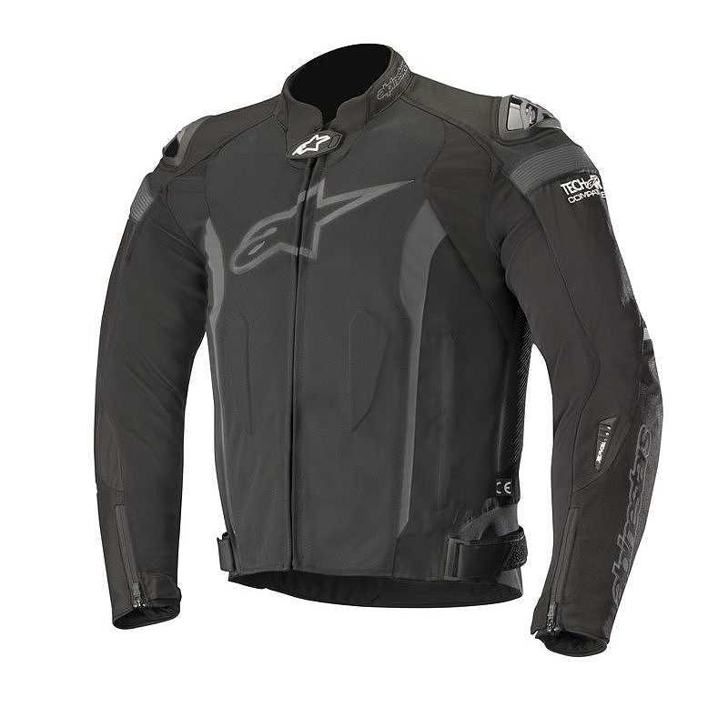 GIACCA MOTO ALPINESTARS T-MISSILE AIR BLACK BLACK COD. 3300618