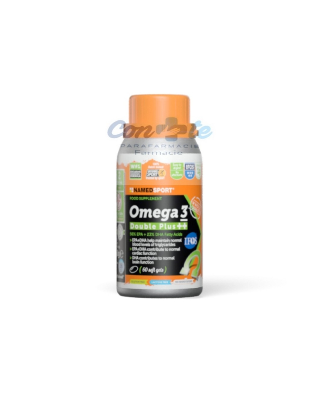 Named Omega 3 double plus ++60 soft gel