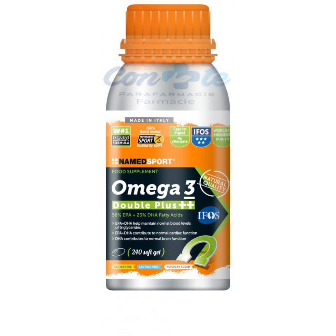 Named sport omega 3 double plus ++ 240 soft gel
