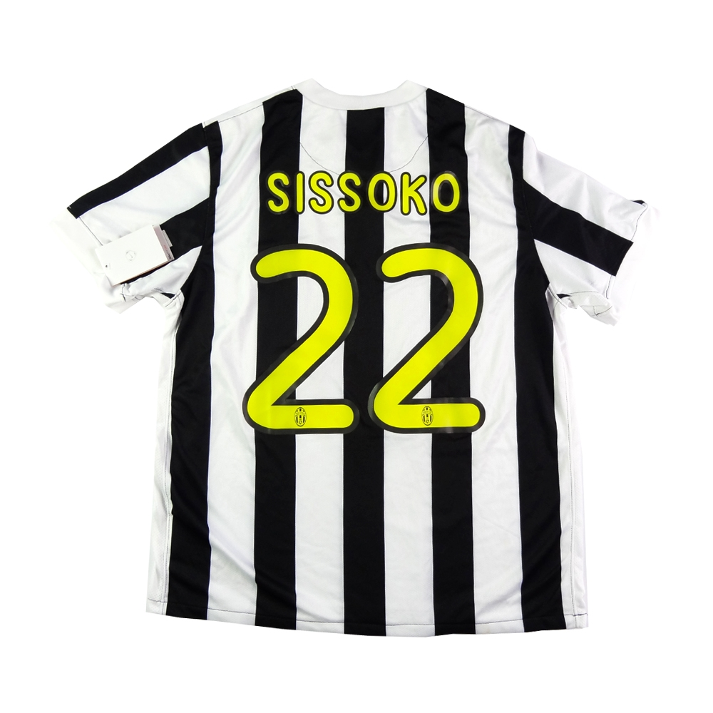 buy online 93dbc 6dd1e 2009-10 JUVENTUS SHIRT HOME #22 SISSOKO M *BRAND NEW WITH TAGS