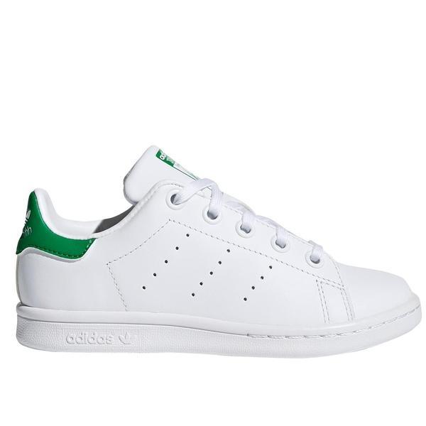 SNEAKERS ADIDAS STAN SMITH C BA7385 WHITE/GREEN