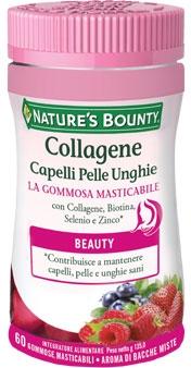 Gommose al Collagene per Capelli Pelle Unghie