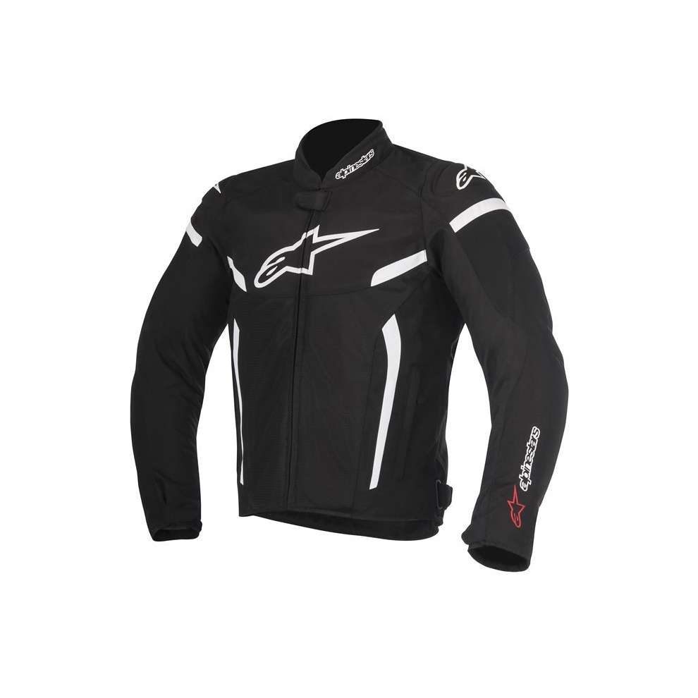 GIACCA MOTO ALPINESTARS T-GP PLUS R V2 BLACK WHITE COD. 3300517