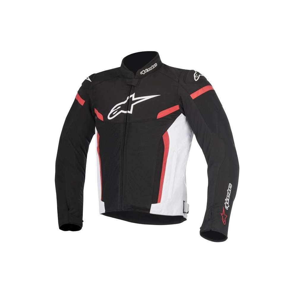GIACCA MOTO ALPINESTARS T-GP PLUS R V2 BLACK WHITE RED COD. 3300517