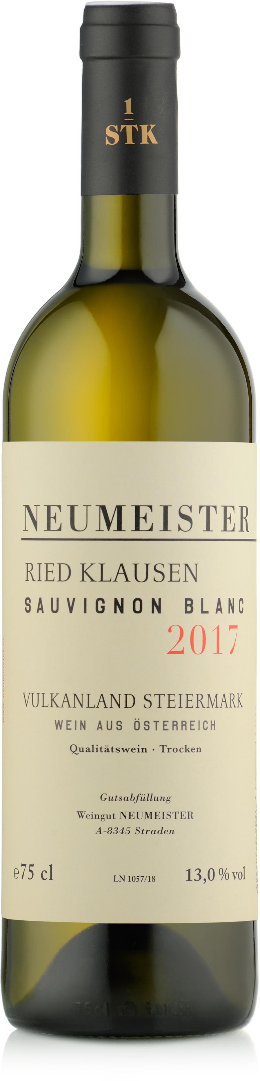 Ried Klausen Sauvignon Blanc 1stk 2017 - Weingut Neumeister