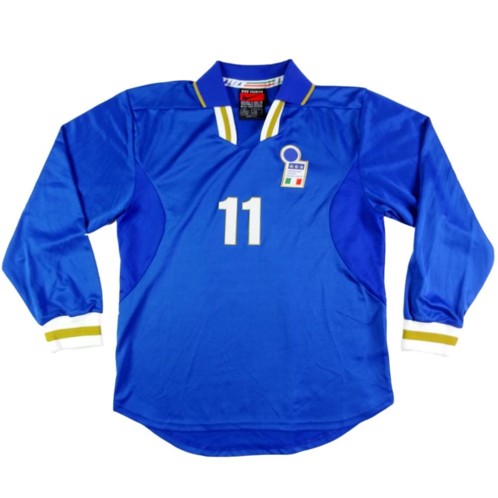 1996-97 ITALIA MAGLIA HOME PLAYER ISSUE #11 Zola L (TOP)