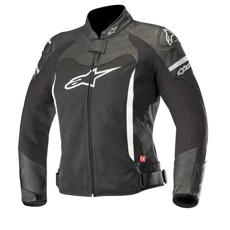 GIACCA MOTO ALPINESTARS STELLA SP X AIR JACKET BLACK WHITE COD. 3113318
