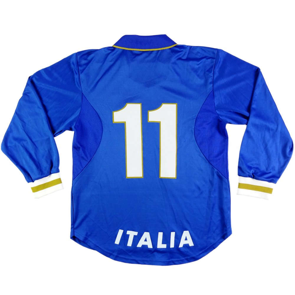 1996-97 ITALIA MAGLIA HOME PLAYER ISSUE #11 Zola L (TOP)