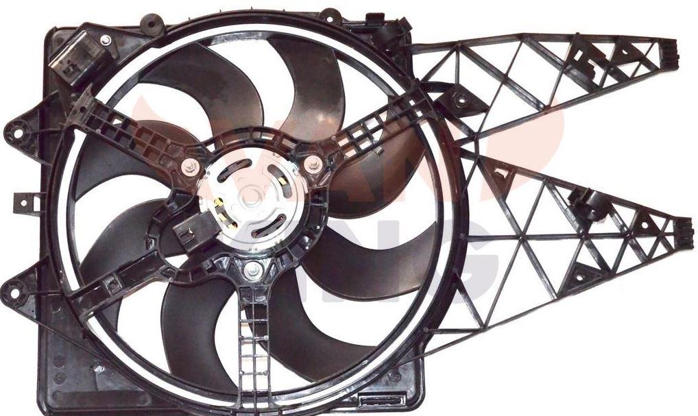 Elettroventola radiatore grande punto, punto evo, 1,3 multijet (55703902)