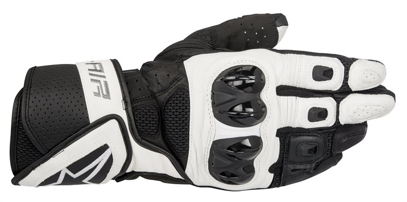 GUANTI MOTO ALPINESTARS SP AIR BLACK WHITE COD. 3558016