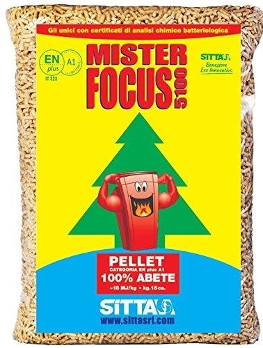 Pellet Abete  Mister Focus