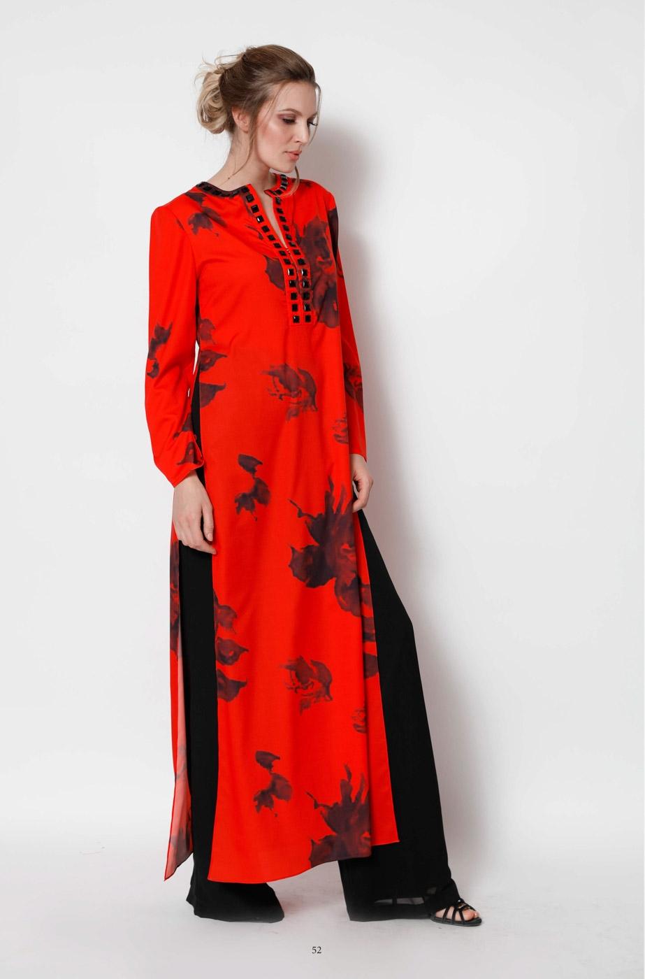 hot sale online 847e6 9b515 Completo cerimonia donna, caftano e pantalone.