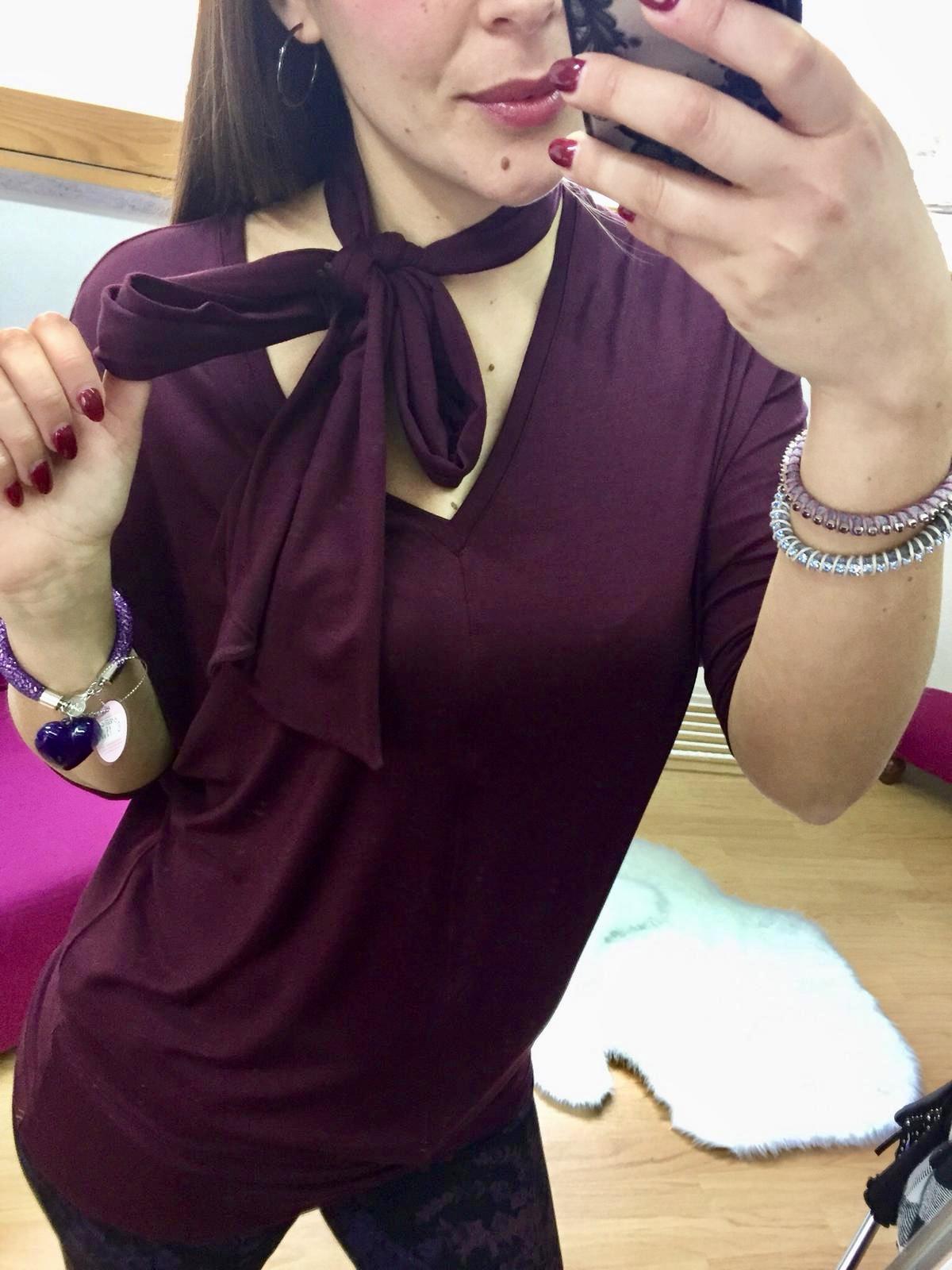 Maxi t-shirt con sciarpa o cintura