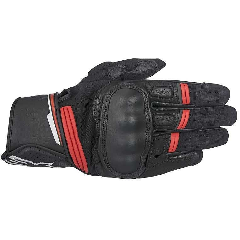 GUANTI MOTO ALPINESTARS BOOSTER BLACK RED COD. 3566917