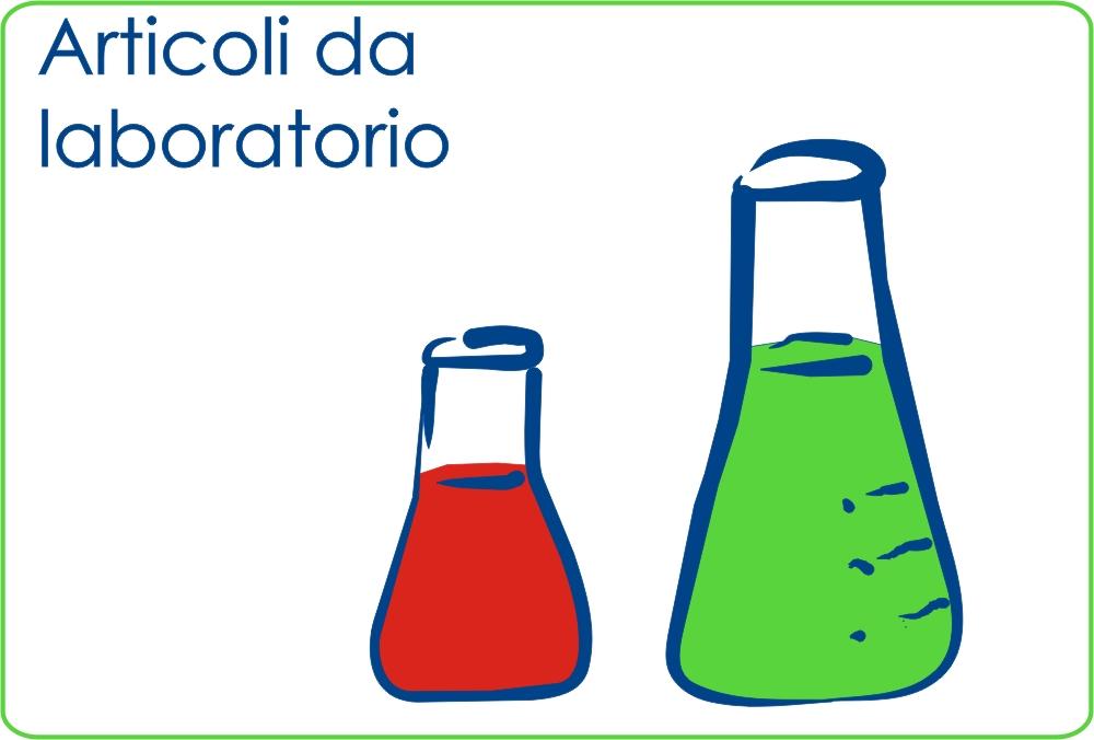 Articoli da laboratorio: vetrini, abbassalingua, gel ecg, prelievi