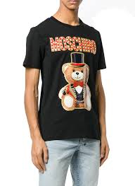 T-SHIRT MOSHINO teddy circus