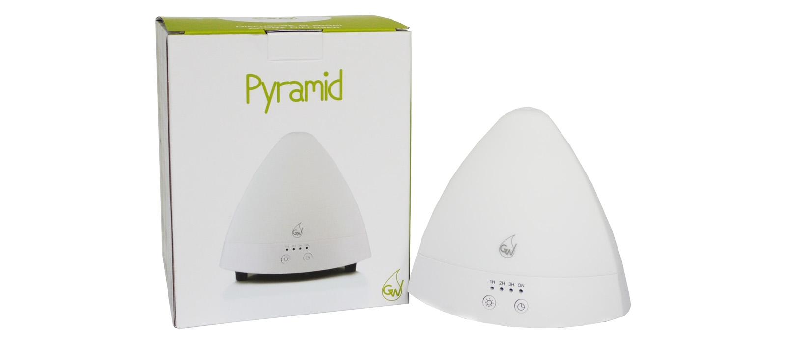 Pyramid Diffusore ad Ultrasuoni con Serbatoi Separati